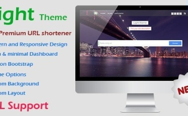 Light Theme for Premium URL Shortener